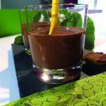 mousse au chocolat au giraumon