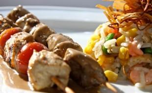 Un déjeuner complet à prix réduits à Fort-de-France