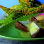Blanc-manger coco et son coulis d'agrumes