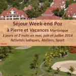 Des week-end spécial seniors et aidants à la Martinique