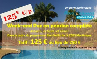 Un week-end Poz à 125 €