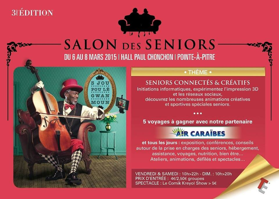 Edition du salon des seniors en guadeloupe for Salon du jardin 2015 guadeloupe
