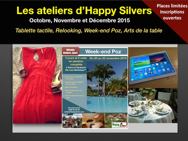 Les ateliers d'Happy Silvers