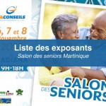 Les exposants au salon des seniors à la Martinique