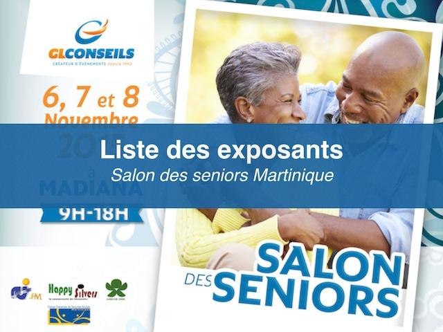 Les Exposants Au Salon Des Seniors Martinique
