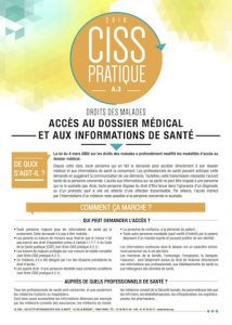 Acces au dossier medical-fiche-CISS