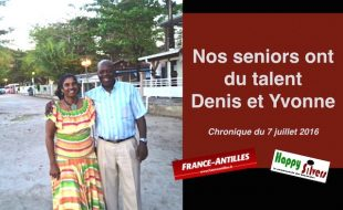 Nos seniors du talent : Denis et Yvonne