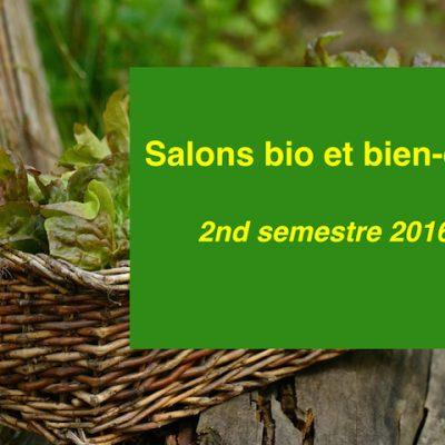 Les salons bio et bien-être à ne pas manquer au 2nd semestre 2016