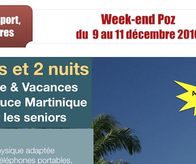 Week-end Poz du 9 au 11 décembre 2016