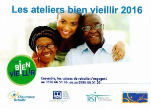 ateliers bien vieillir 2016 CGSS Martinique