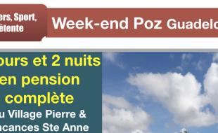 Un week-end Poz à Pierre & Vacances Guadeloupe