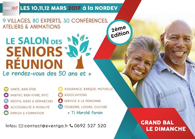 2 me dition du salon des seniors la r union happy silvers for Salon des seniors 2017