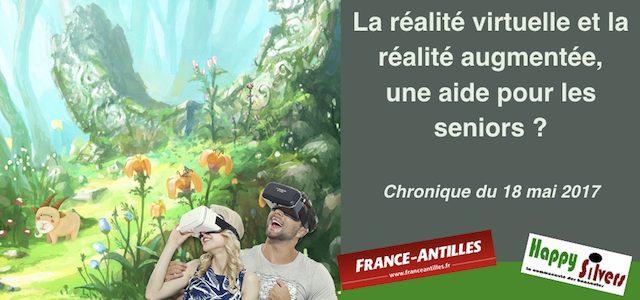 La réalité virtuelle et la réalité augmentée, une aide pour les seniors ?