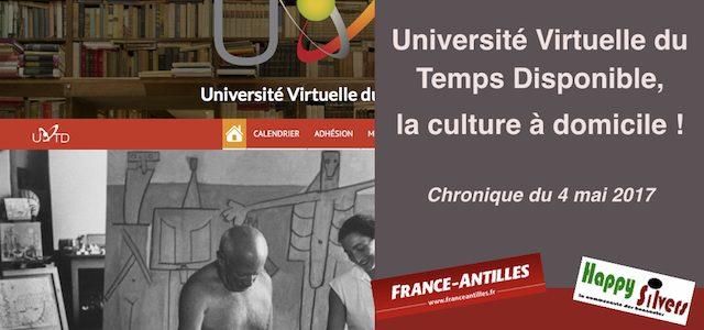 L'Université virtuelle du temps disponible : la culture à domicile