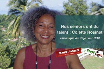 Nos seniors ont du talent : Colette Rosinet