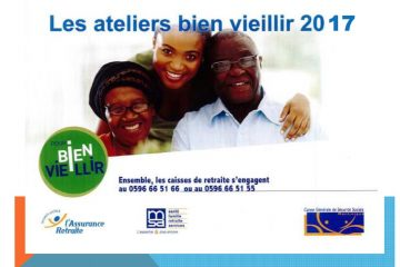 Les ateliers Bien Vieillir en Martinique