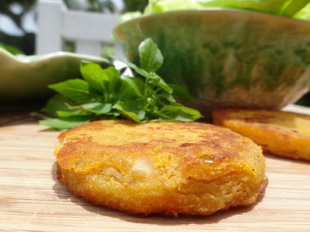 galette de patate douce