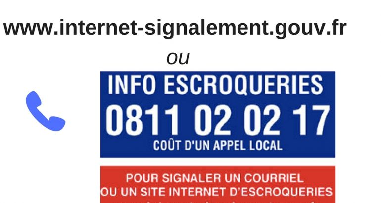 Signaler une escroquerie sur Internet ou par téléphone