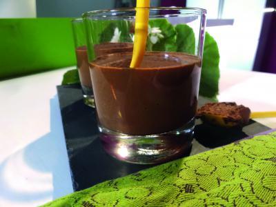 Mousse au chocolat et giraumon