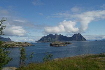 La Norvège, la montagne dans la mer by Alice