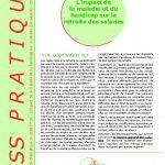impact maladie sur la retraite CISS