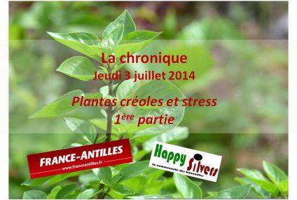 Plantes créoles et stress