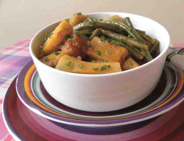 Légumes créoles en cocotte by Carnets de cuisine
