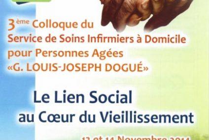 Colloque SSIAD le lien social au coeur du vieillissement