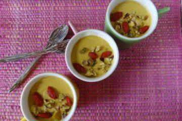 Mousse de mangue vanillée by Carnets de cuisine