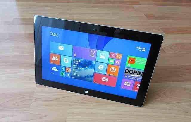 tablette windows 8
