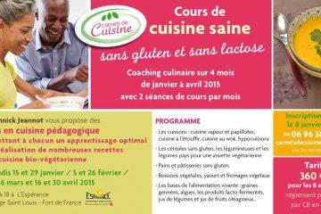 Cours de cuisine saine avec Carnets de cuisine