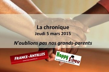 N'oublions pas nos grands-parents !