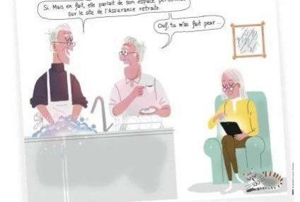 L'assurance retraite, une site pour les retraités, actifs et entreprises
