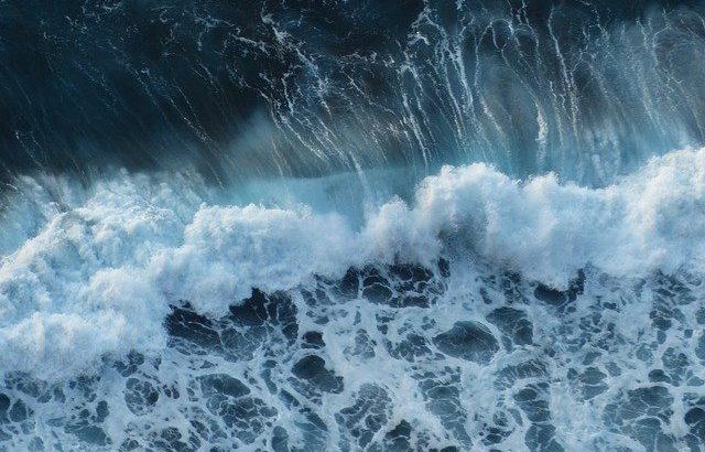 vagues mer