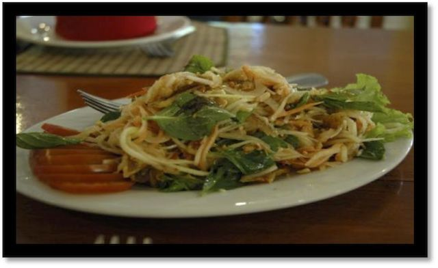 La salade de mangue verte