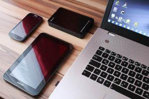 tablette et ordinateur