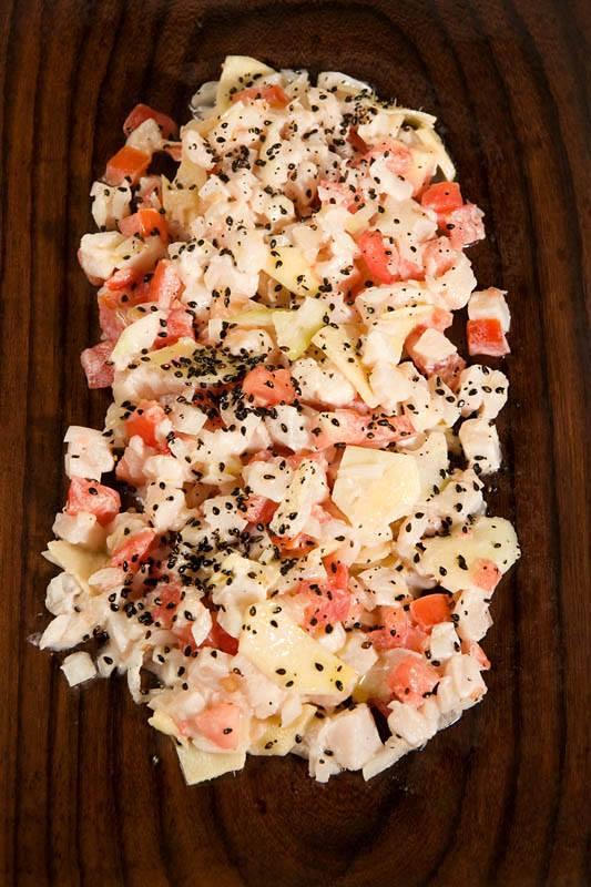 Ceviche de poisson de Plantes créoles
