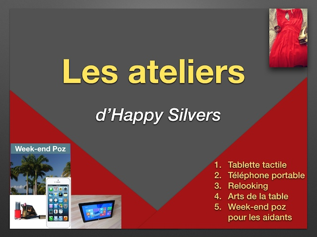Ateliers happy silvers