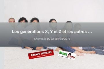 Pour mieux comprendre les générations X, Y et Z