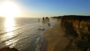 falaises Australie
