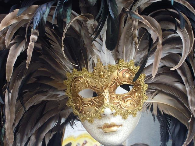 masque de carnaval Venise