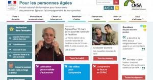 site pour les personnes agees