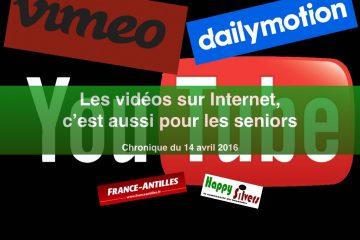Les vidéos sur Internet, c'est aussi pour les seniors !