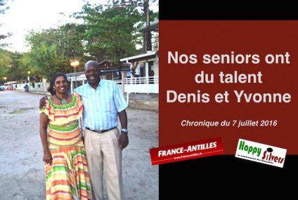 Nos seniors du talent : Denis et Yvonne