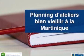 Actualités des ateliers bien vieillir en Martinique