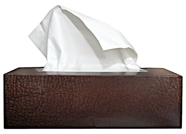 mouchoir en papier