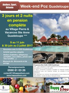week-end Poz Guadeloupe