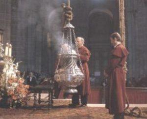 ceremonie du Botafumeiro