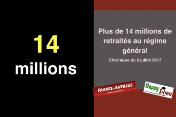 Plus de 14 millions de retraités du régime général en 2016