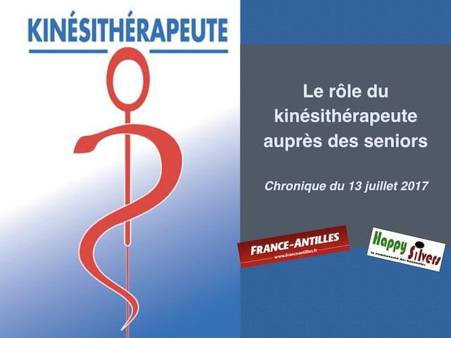 chronique du 13 juillet 2017 kinesitherapeute